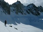 Backcountry Skiing Sawtooth Range